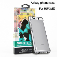 Wholesale high clear anti burst Acrylic unique case design mobile cell phone cover for huawei P9