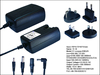International AC Adapter AC DC Power Adapters 12V 1A
