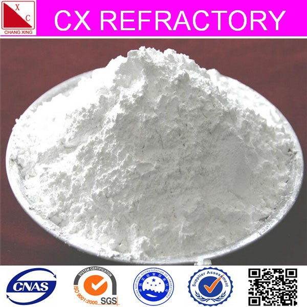 Calcinated & washed different size activated white clay