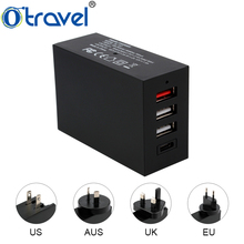 SL-157 wall usb type c charger qc3.0 quick charger mobile phone accessories 5.4A