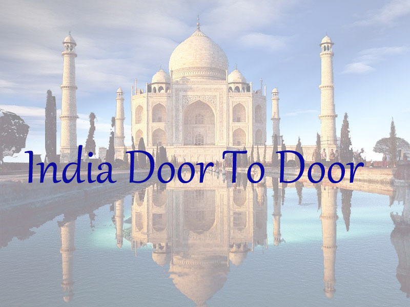 India door to door shipping service from China to india