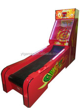 Hot sale ghost bowling ticket redemption game machine for sale/coin operated indoor bowling game machine for kids