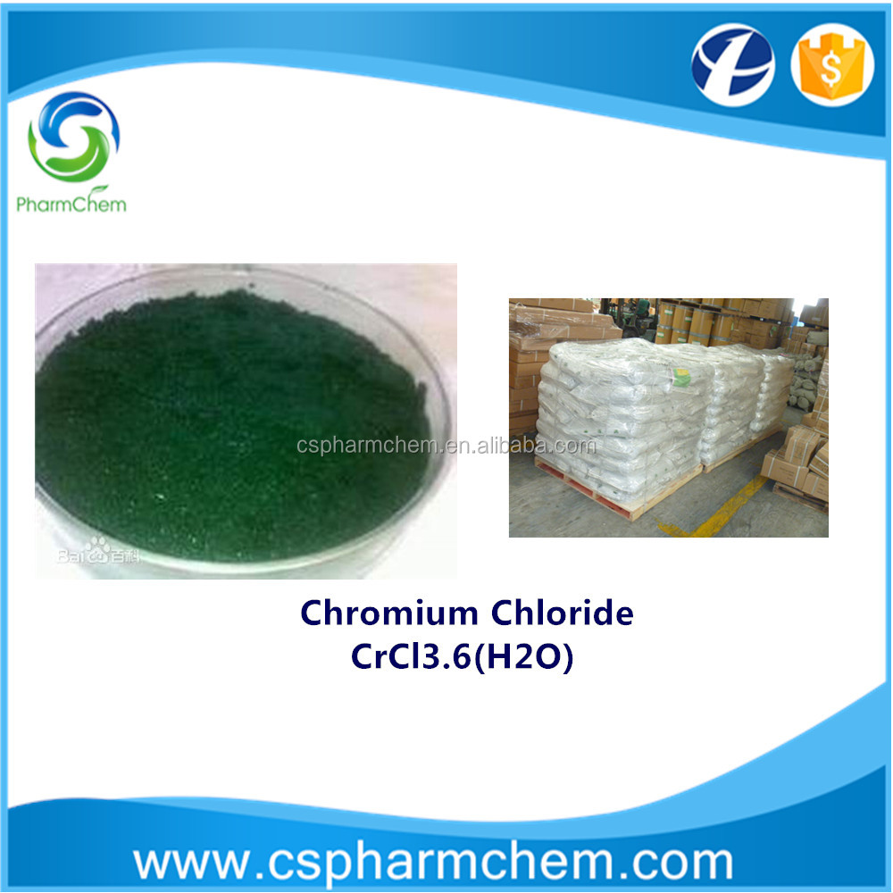 Professional Manufacturer supply high quality Chromium Chloride / CrCl3.6(H2O) / CAS 10060-12-5