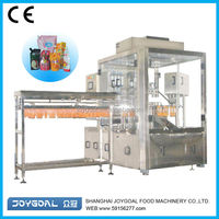 Spout pouch bag/stand up pouch with hang hole filling machine/cement bag packaging and filling machine