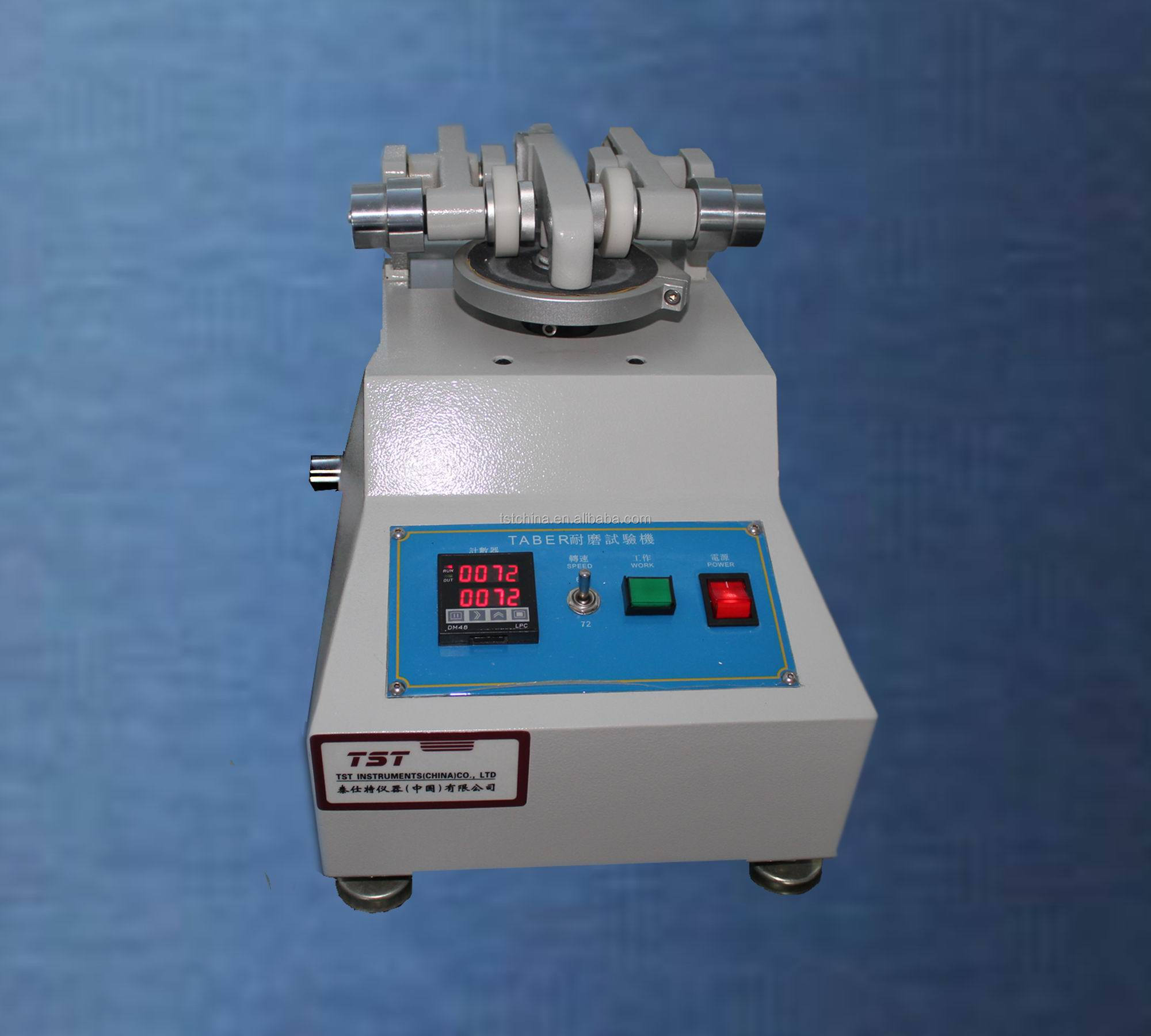 ISO5470 Taber wear abrasion tester(rotary platform)-Taber abrader