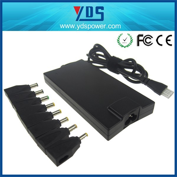 shenzhen factory hot selling slim automatic universal ac adapter for laptop and lcd monitor 90w Crystal dc size