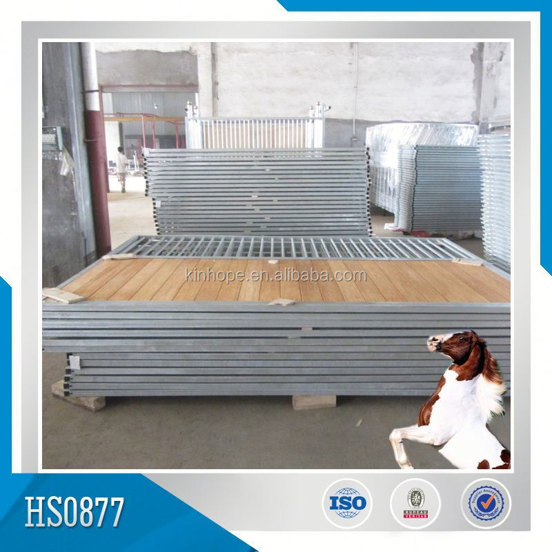 China Supplier Barn Door For Angle Load Trailer 2 Horse