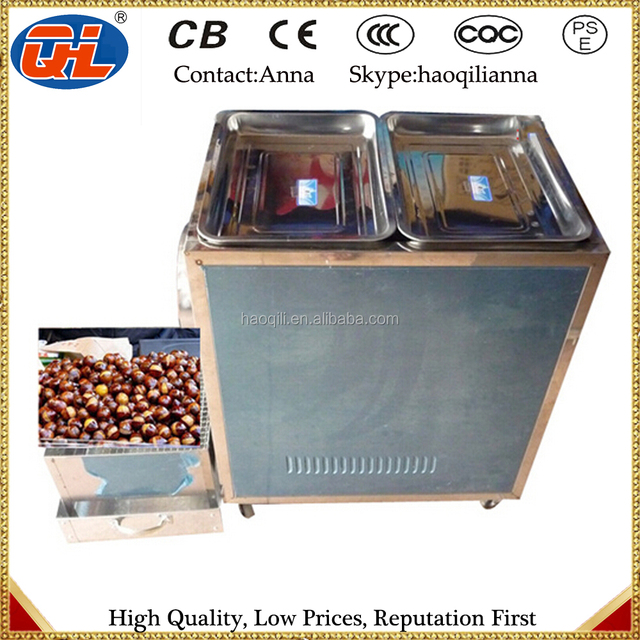 Automatic Frying Chestnut Machine