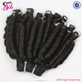 DJH Factory new product 100% human hair ROLL CURL hair extensions