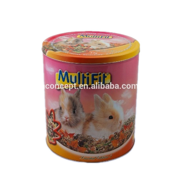 Tin Packing Box/Round Tea Tin Box/Food Packing metal tin box