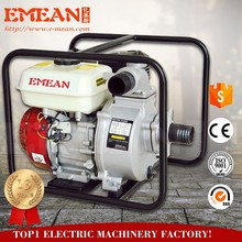 CHINA 4 inch Petrol Pump Machine Price, 4 Stroke Gasoline Water Pump wp40, Manual Water Pumps