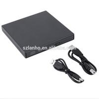 2017 new arrival USB 2.0 External Optical Drive Combo CD RW Burner DVD ROM Portatil Writer Recorder Player for Laptop portable