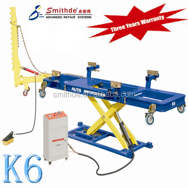 China manufacturer K6 frame machine/auto garage equipment/straightening system with CE ISO