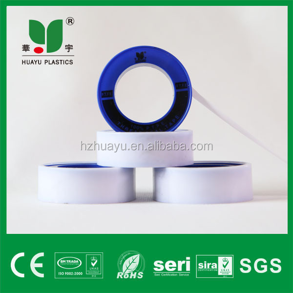 1/2' 12mm*0.075mm*10m new products yellow ptfe tape expanded ptfe joint sealant tapes for India market used