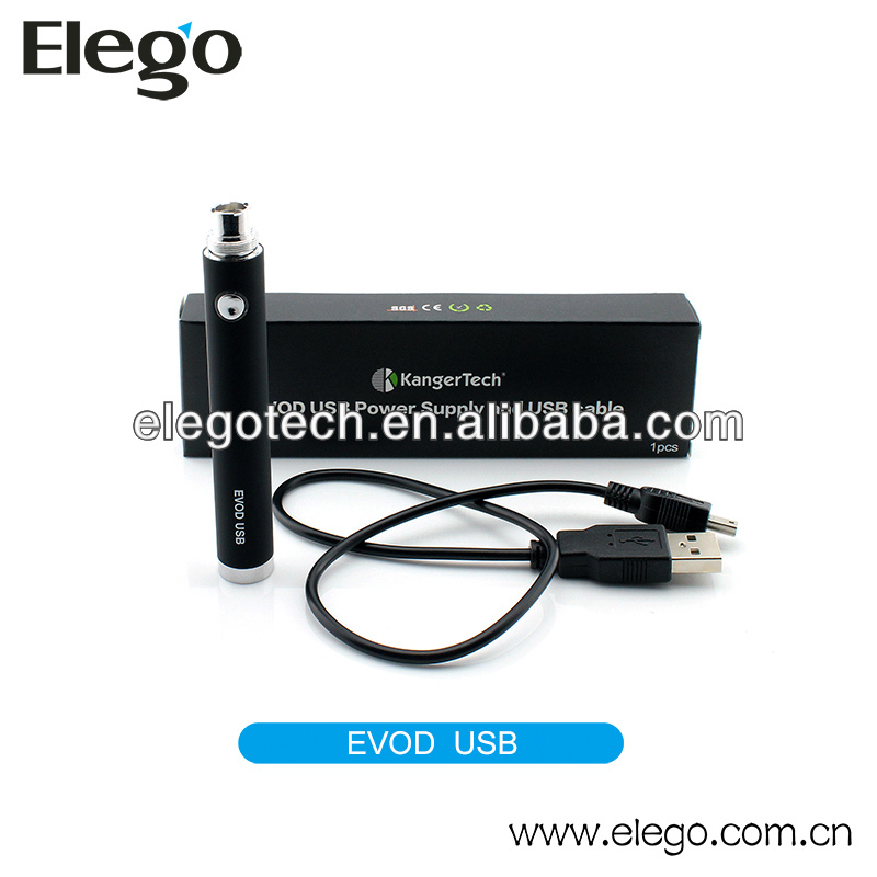 Latest and Hottest Genuine Kanger 650mah EVOD USB Battery 1000mah EVOD Passthrough Now in Large Stock