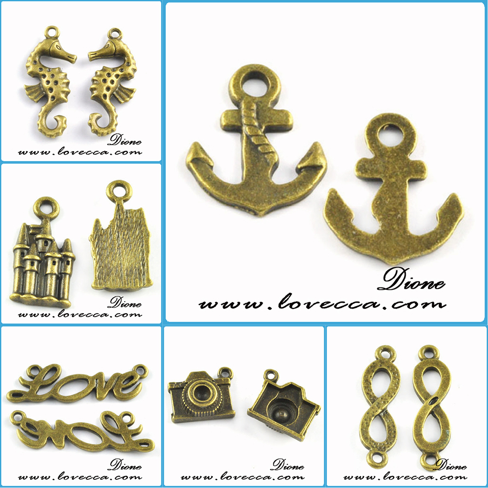 2016 various designs jewelry making wholesale small metal