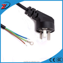 ZD D29 International Standard power cord with ring 3 pin home appliance connection power cable