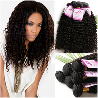 Free Shipping Virgin Peruvian Deep Wave Braiding Hair, Malaysian Deep Wave Hair