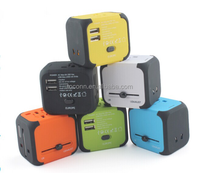 Dual USB Universal Travel Power Adapter