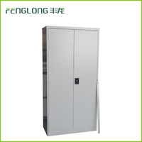 Used archive storage safe document cabinet metal office china steel cabinet with adjustable shelf