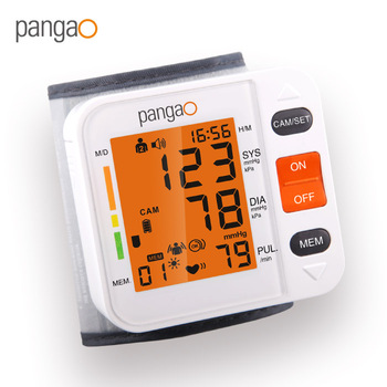 Pangao medical equipment portable digital blood pressure monitor professional monitor