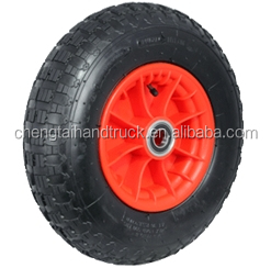 Top quality 400-8 plastic centred pneumatic wheels for Trolleys & Equipment