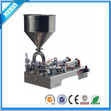 Semi-auto Full Pneumatic Double-head cream Filling Machine Without electricity (paste, cheeze, sauce, oitnment)