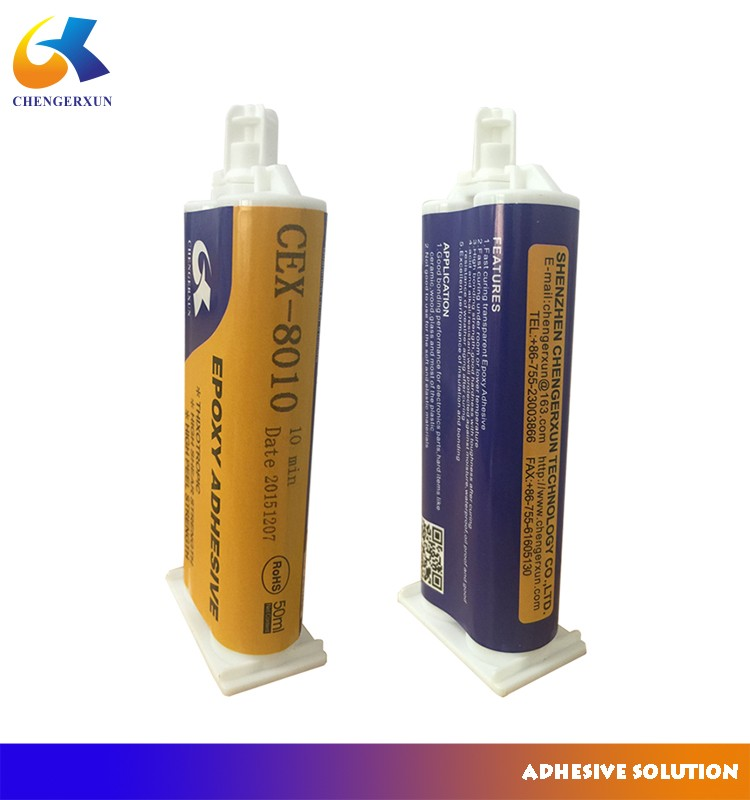 10 minutes fast curing transparent epoxy structure AB glue adhesive for Ceramic materials
