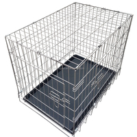 High quality galvanized iron wire , high carbon steel wire Dog Cage for sale cheap