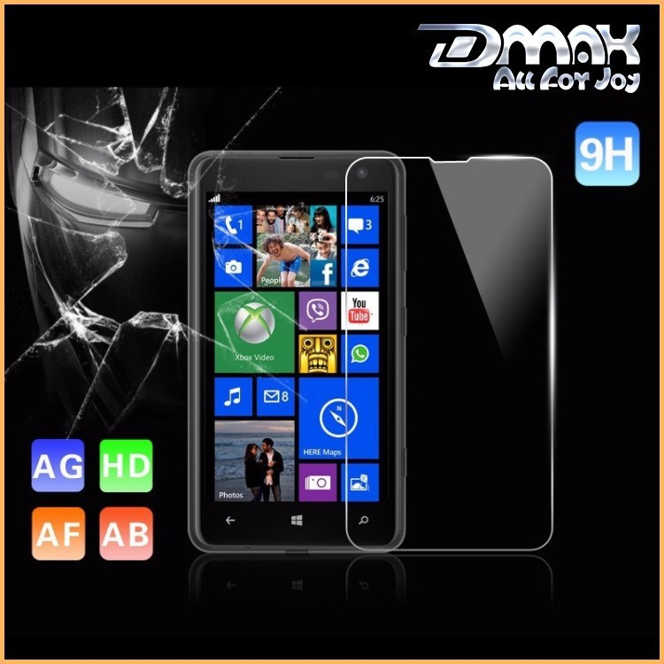 Top Quality 9H 2.5d High Clear Anti-glare Anti-shock Tempered Glass Screen Protector for Nokia Lumia 625