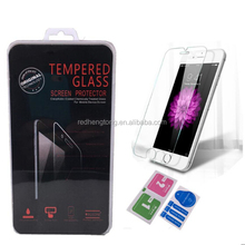 For iphone 7 Mobile Phone Tempered Glass Screen Protector With Retail package