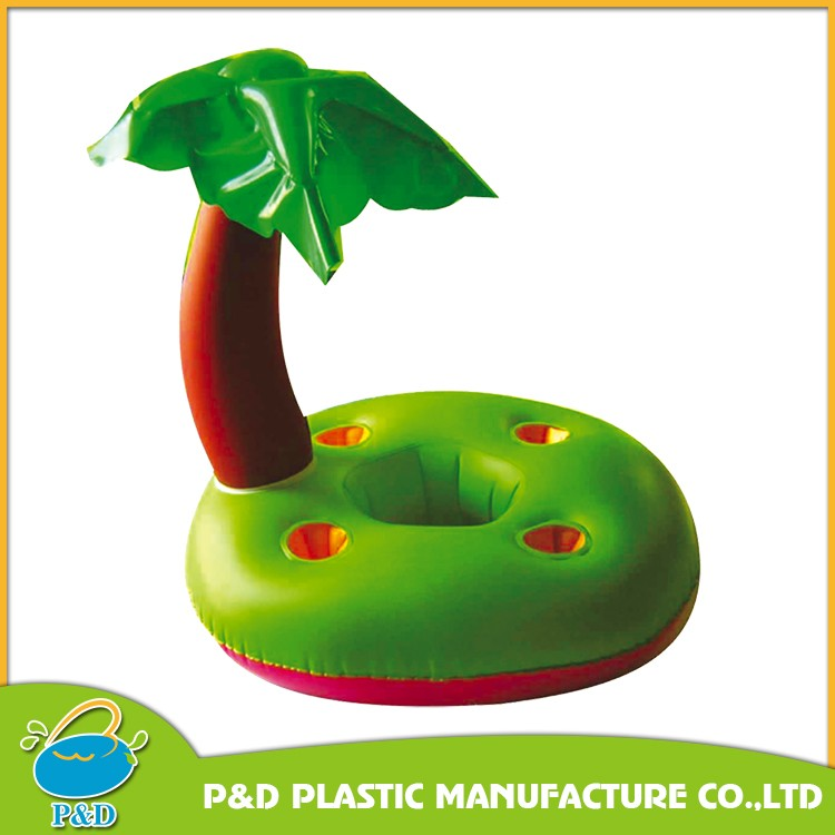 Plastic Palm Tree Cooler, Inflatable Palm Tree Ice Bucket