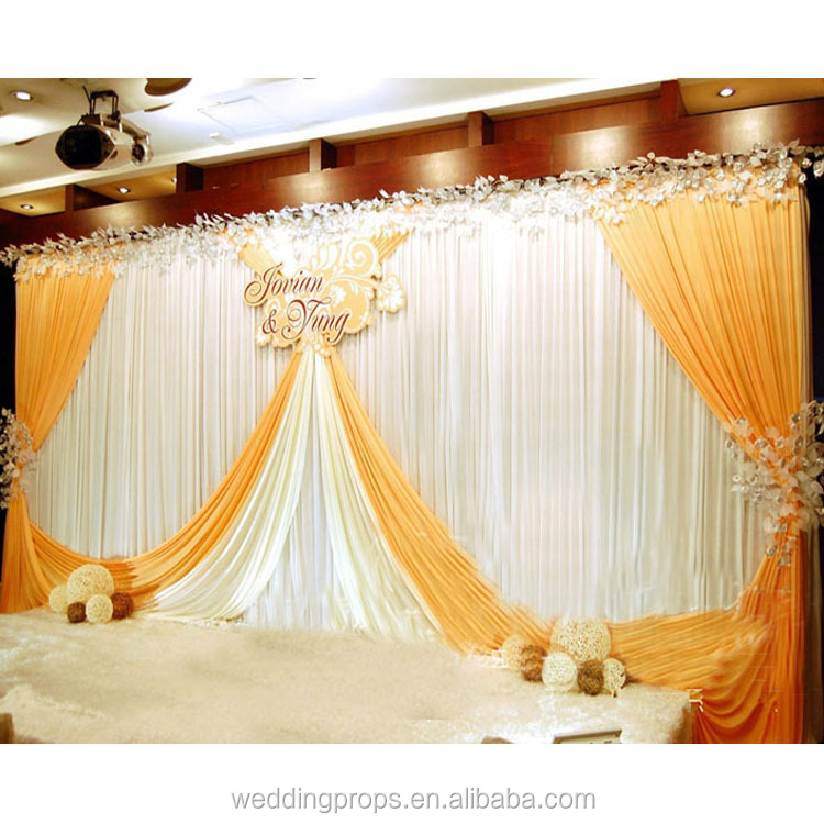 Decoration party stage for wedding backdrop
