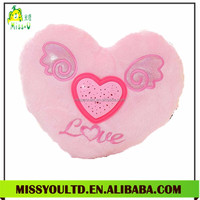 Red Heart-shaped Led Toy Valentines Gift I Love You Plush Pillow