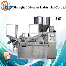 Hot sale BZ-100 A automatic tube filler and sealer ,toothpaste production equipment