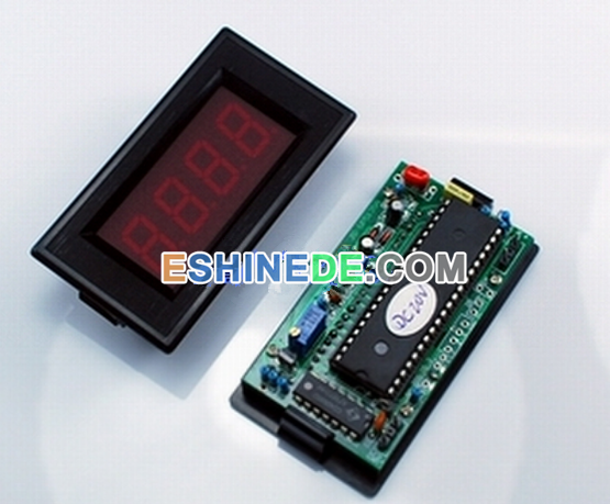 New 3-1/2 Digital LED DC RED 0-2A Current Meter 5VDC Power