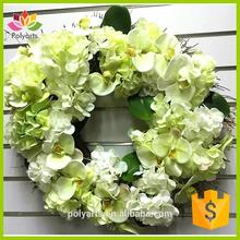 Hot selling decorative wreath grapevine wreath succulent wreath for wholesales