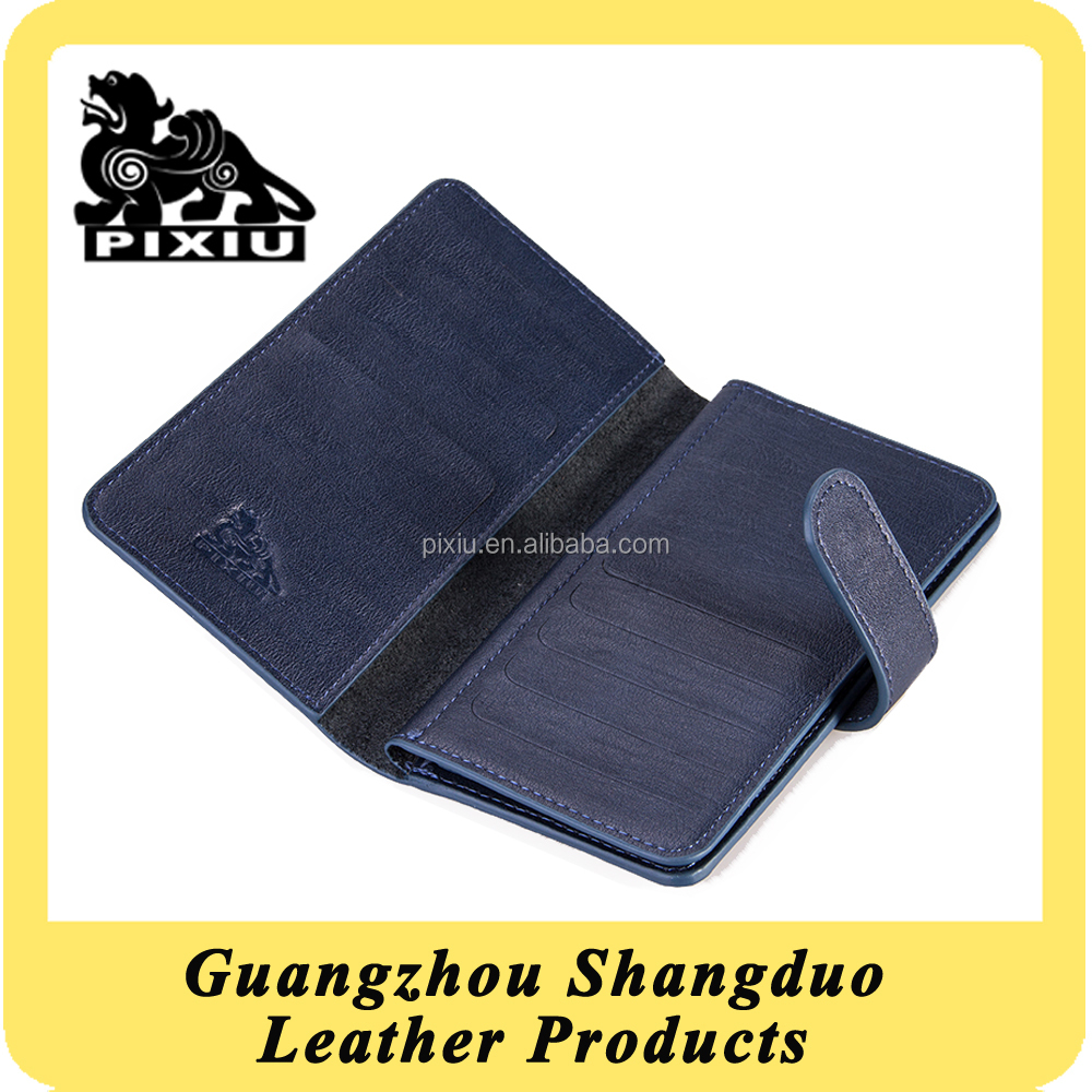 Trade Assurance Supplier Customizable Leather Belt Clip Card Case