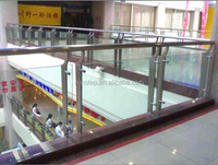 frameless glass modern banisters
