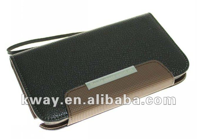 Flip Leather Case Purse Card Slot Holder for Samsung Galaxy Note2 II N7100