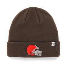 Team Color Cuff Beanie Hat Cuffed Football Winter Knit Toque Cap