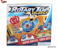 Hot sales launcher spin top toy bey blade with Arena