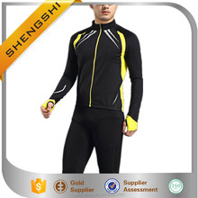 New design men fashion long sleeve riders safety bike jacket