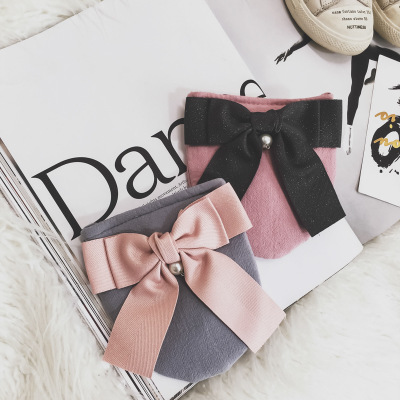 2018 New Kids Girl Mini Bags Sweet Bowknot Cross- body Shoulder Bags for Children Baby Girls Coin Messenger bag