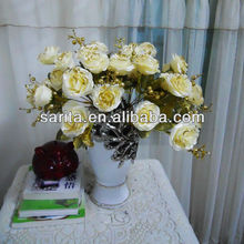 flowers artificial mini roses for wedding decoration