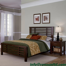Classic Natural French Platform 2 Piece Bedroom Set