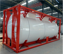 Winsense China ISO 20ft Bitumen Tank Heating Containers Sales