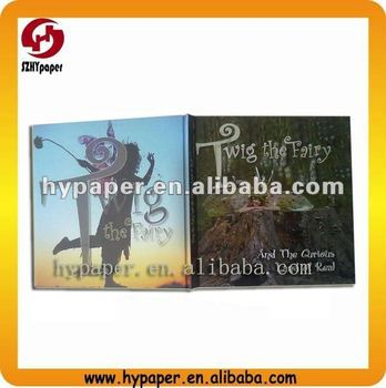 High quality printing hardcover photo book