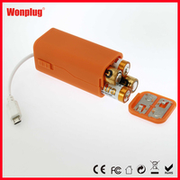 emergency battery chager for mobile phone wholesale outdoors AA battery charger