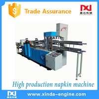 high production counting & folding tissue serviette machine cheap price